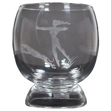 "Steuben Sidney Waugh ""Diana the Huntress"" Vase"