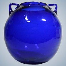 Early Blenko Vase, Shape 68