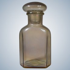 Barovier & Toso Glass Decanter, Smoke Amber Color