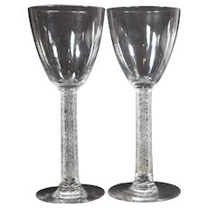 Lalique Phalsbourg Cordial Glasses