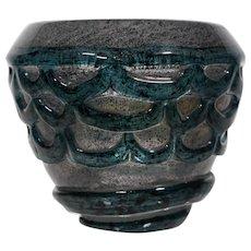 Henri Navarre Internally Decorated Vase