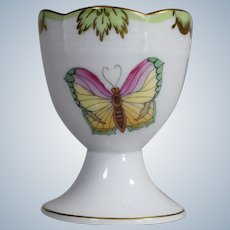 Herend Queen Victoria Hand Painted Egg Cup
