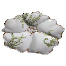 Limoges Oyster Dish, Davis Callamore & Co
