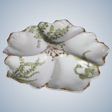 Limoges Oyster Dish, Davis Callamore & Co