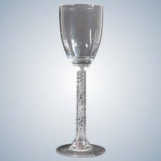R.Lalique Phalsbourg Port Glass, Circa 1920