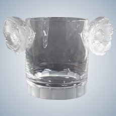 """Lalique """"Constance"""" Ice Bucket or Wine Cooler"""