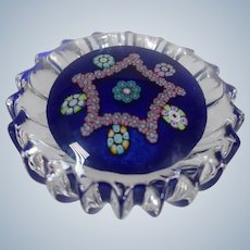 Perthshire Hand Blown Glass Paperweight