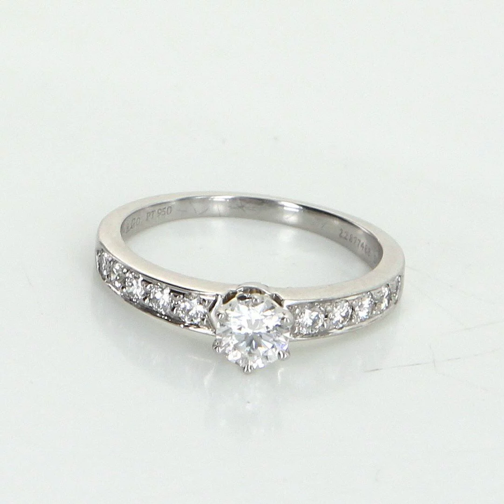 2d5d39eb00e95 Tiffany & Co Diamond Enagement Ring 950 Platinum Estate Fine Jewelry Pre  Owned