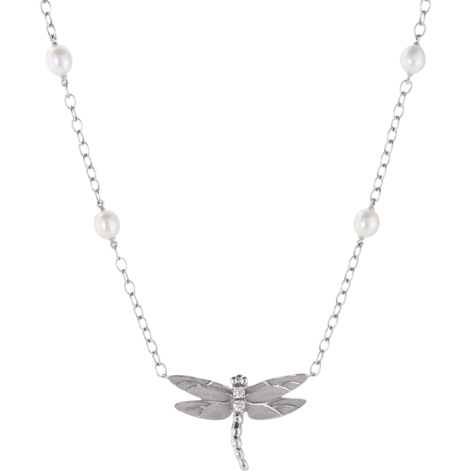 dragonfly silver af winged open necklace sterling bling jewelry inch