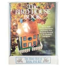 1991 The Bird House Book And Kit Sealed