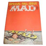 Three MAD magazines. December 1961 No. 67, April 1962 No. 70 and September 1964 No. 89