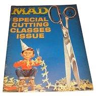 Volume 1 No. 75 December 1962 MAD Magazine.  Special Cutting Classics Issue  Volume 1 No. 74 October 1962 MAD Magazine.
