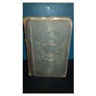 Post Civil War era National Fifth Reader hard back book.  P and W Series No. 6. A. S. Barnes and Company