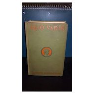 1925 Quo Vadis a Narrative of the time of Nero hardback book. No dust cover.  Henryk Sienkiewicz.