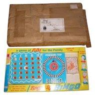 1971 BINGO board game by REGAL Games mfg. co.