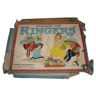 Game of RINGERS by Parker Brothers Inc. Salem Massechusetts
