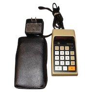 Datamath TI-2500B electronic calculator by Texas Instruments