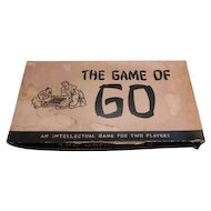 1951 edition of the Oriental board game of GO.  William F Drueke & Sons Grand Rapids Michigan