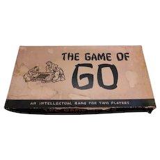 1951 edition of the Oriental board game of GO.  William F Drueke & Sons Grand Rapids Michigan