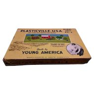 A 1949 edition of PLASTICVILLE, USA built by Young America. RU-2 Bachmann Bros., Inc Philadelphia PA.