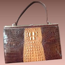 Australian Salt Water Crocodile Bag.