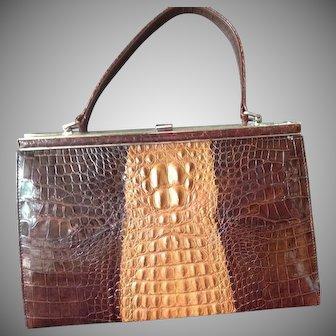 SALE:  Crocodile Handbag Australian Salt Water.