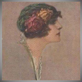 SIgned Corbella Art Deco Italian Postcard 1916