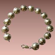 Sterling Silver Celtic Shield Link Bracelet