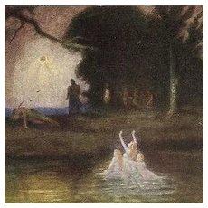 Siegfried's God Artist Opera Postcard 1913.