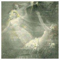 SALE: German Rheingold Maidens Opera Postcard c1900