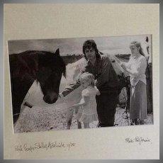 SALE: Paul McCartney Original Artist Signed Photograph 1975.