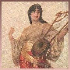 Ethnic 'Daughter of a Sheik' German  Artist Postcard