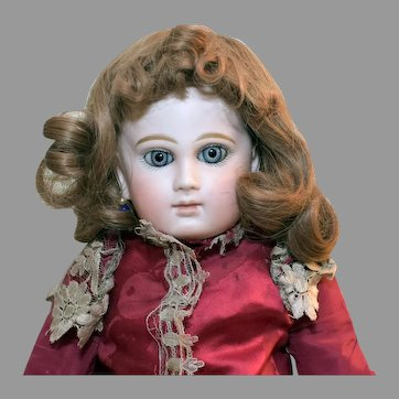 Light Brown Wig for Antique Doll
