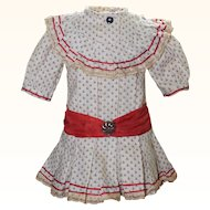Precious Cotton Doll Dress for