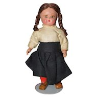 "5 1/2"" Miniature Doll Maybe Italian"