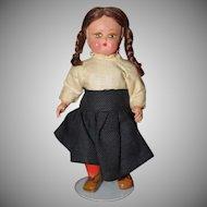 "5 1/2"" Miniature Doll Maybe Italian"