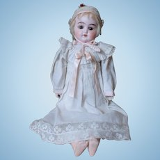 """Sweet 15"""" Cuno and Otto Dressel Antique Doll"""