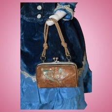 Leather French Fashion Handbag