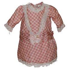 Adorable Silk Doll Dress