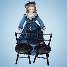 Lovely Antique Doll Chairs