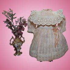 Sweet Pink Cotton Doll Dress