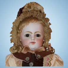 "Precious 13"" Antique Doll by Francois Gaultier, FG"
