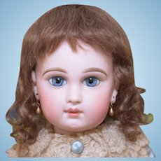 """Mohair Doll Wig Size 12-13"""" Brown"""