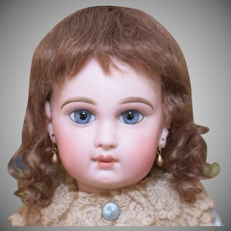 "Mohair Doll Wig Size 12-13"" Brown"