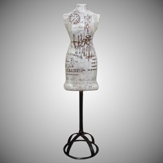 Gorgeous French Fashion Poupee Dress Form Mannequin