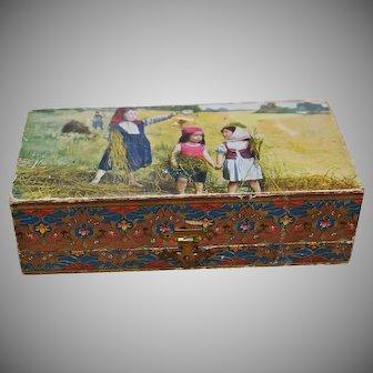 Beautiful Ornate Box Mignonette Size