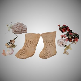Beautiful French Doll Socks
