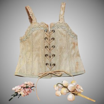 Beautiful Antique Doll Corset