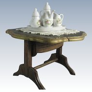 Quality Folding Wood Doll Table