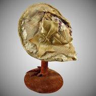 Early Muslin Doll Hat